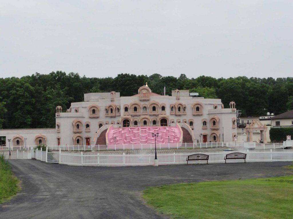 New VRAJ temple